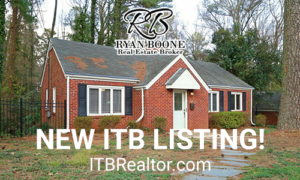 New ITB Listing - ITB Realtor - Ryan Boone Real Estate - 3 BR/1 BA - Wade Avenue Home for Sale