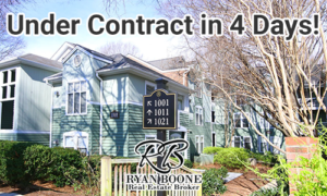 Ryan Boone Real Estate - inside the beltline condo - under contract in four days