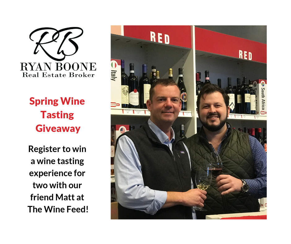 Ryan Boone Real Estate - Wine Tasting Giveaway