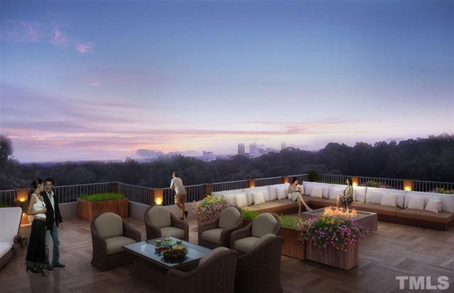 Ryan Boone Real Estate at Hudson Residential - 910 Oberlin Road Raleigh - rooftop