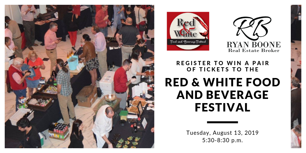 Red & White Food & Beverage Festival Ticket Giveaway
